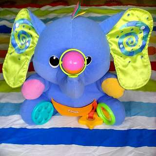 play and learn elephant stuff toy