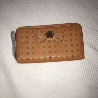 Mimco Bow Wallet (Amber) BNWT RRP $199 BARGAIN BARGAIN BARGAIN