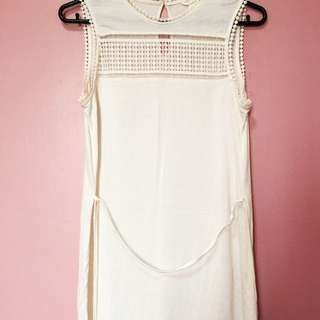 H&M Off-white Dress