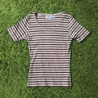 Tshirt Stripy Size Medium