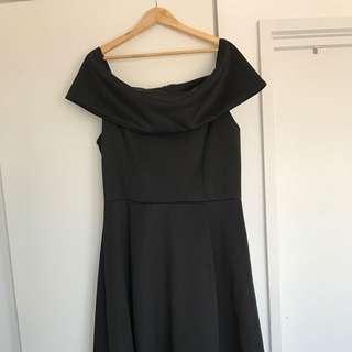 BOOHOO+ Bardot Style Dress