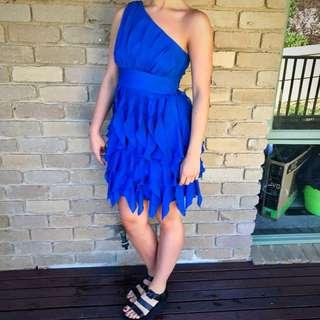 Wayne Cooper Blue Dress Cocktail