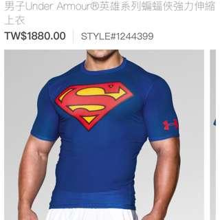 Under Armour Fit 運動上衣-國際尺寸
