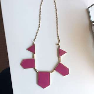 Pink Purple Necklace