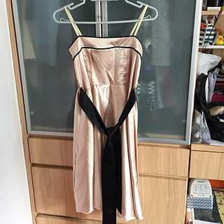 Champagne Color Dress