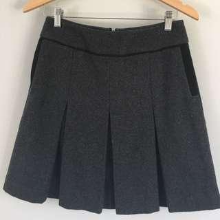 Jigsaw Pleated Skirt