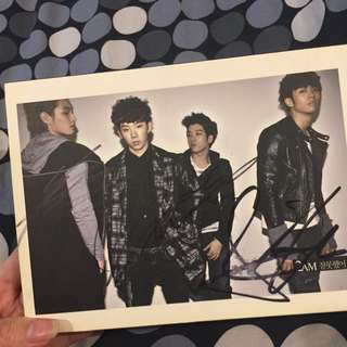 2AM 잘못했어 Album (SIGNED BY 2AM THEMSELVES!)