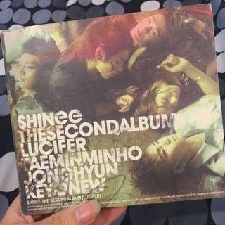 "SHINee The 2nd Mini Album ""Lucifer"""