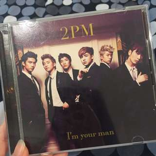 "2PM ""I'm You Man"" Japanese Album"