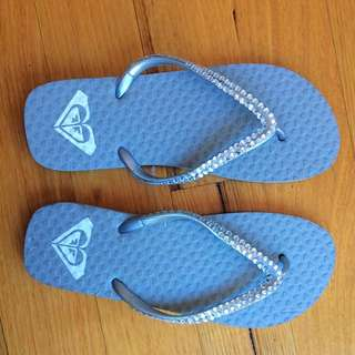 Roxy thongs/flip flops