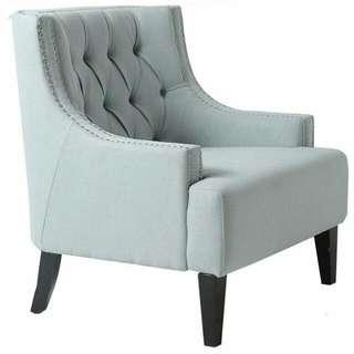 Sloane Arm Chair - Ice Blue