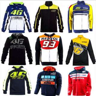 MotoGP jackets/hoodies available for orders! #Contiki2018