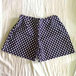 High Waisted Shorts (polkadots)