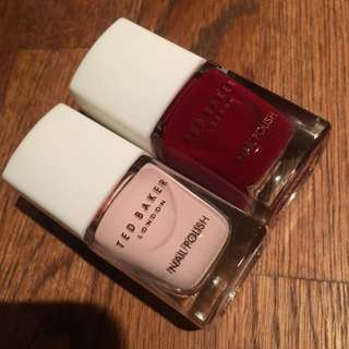 Two Ted Baker Nail Polishes