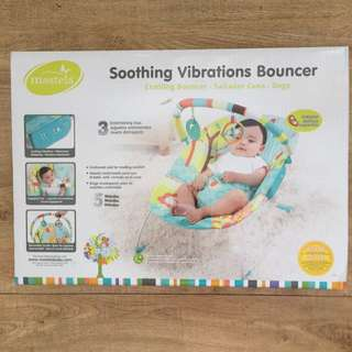 Mastela Soothing Vibrations Bouncer Baby Chair