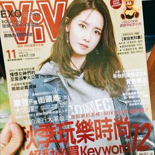 Vivi秋冬時尚雜誌潤娥封面
