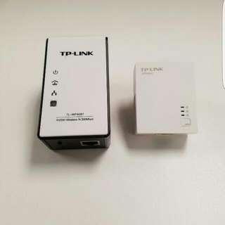 TP-Link > TL-WPA281 KIT 300Mbps Wireless N Powerline Adapter Starter Kit, 2.4Ghz N300 Adapter + 200Mbps Adapter, 802.11b/g/n