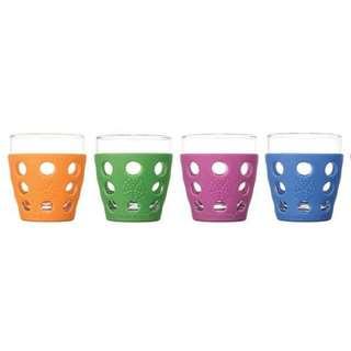 Lifefactory Beverage Glass 11 Oz Multi Colour