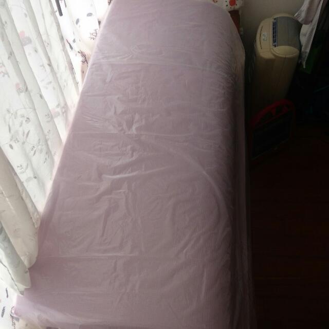 1/3 ALIFE 10cm 竹炭複合雙人記憶床墊 二手