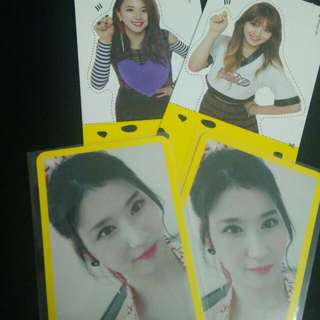 Trade TWICE Photo Card And Goods Knock Knock