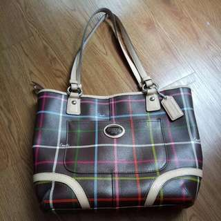 Authentic Coach Tote Handbag