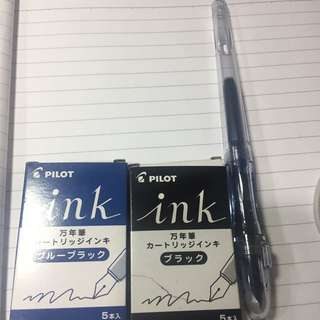百樂習字鋼筆