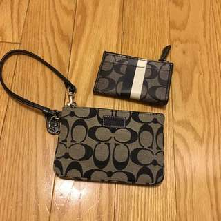 Coach Wristlet And Coin Purse