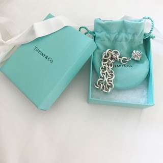 Tiffany & Co Blue Box charm bracelet $850 value