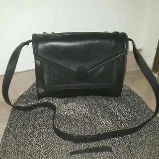 loeffler randall soft leather messenger style shoulder bag