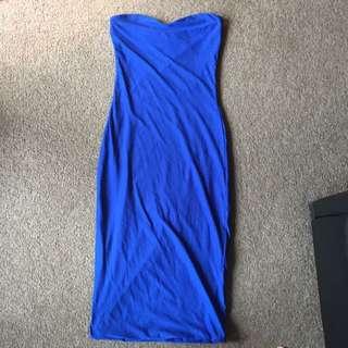 Bodycon Kookaï Blue Dress