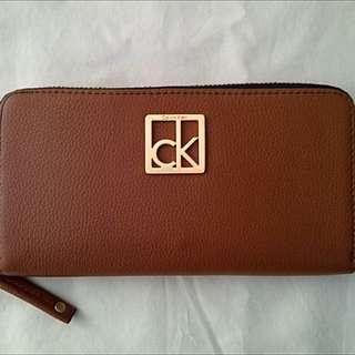 Sale! Calvin Klein Zip Around Wallet