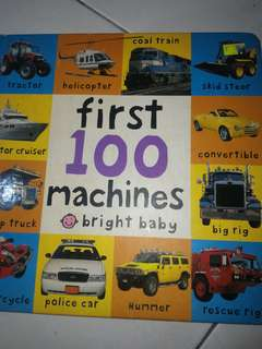 Kids book of machines