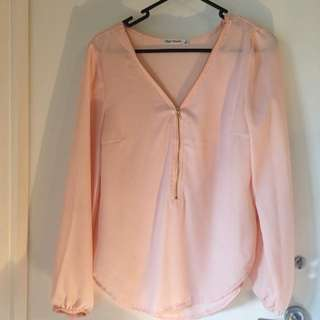 Coral Long Sleeve Blouse 8