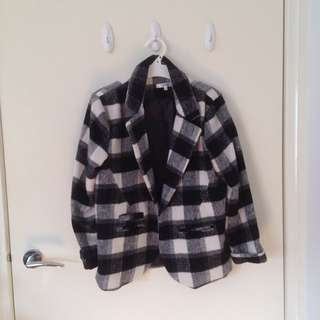 Valleygirl Checkered Jacket