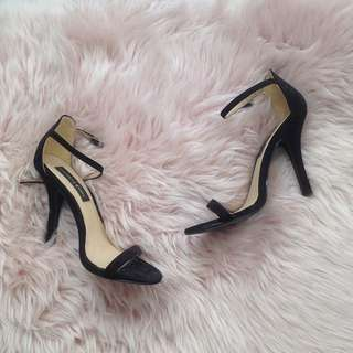 s38 London Rebel Strappy Stiletto Heels