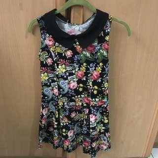 Floral Colar Dress