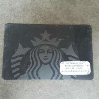 Starbucks Card Black Edition