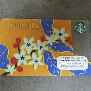 Starbucks Card Indonesia