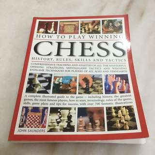""" How To Play Winning Chess "" book"