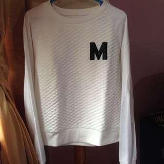 M sweater
