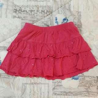Rok Celana Pink Size 4 Tahun