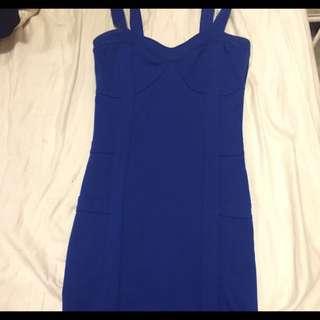 Dynamite Blue Dress