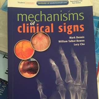 Mechanisms Of Clinical Signs, Dennis, Bowen & Cho