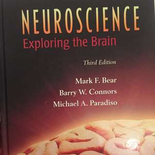Neuroscience Exploring The Brain, Bear, Connors & Paradiso 3rd E