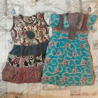 Set 2 Batik Size 5 Tahun