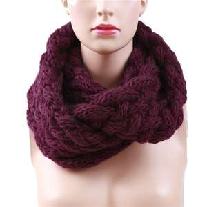 [PRE ORDER] Thick Infinity Knitted Scarf