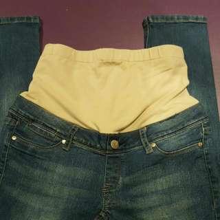Skinny Maternity Jeans. Size 8