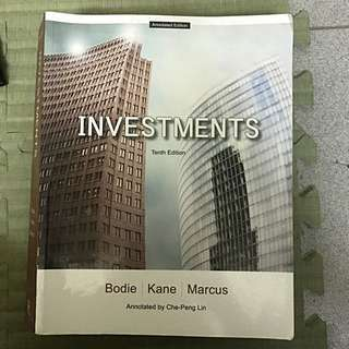 INVESTMENTS *送中譯本