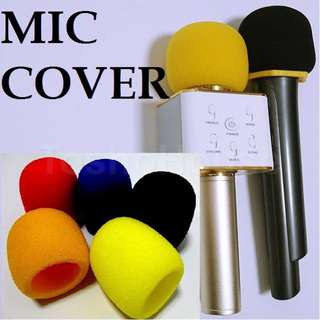 5 Colours Karaoke Microphone Premium Cover (Thick Quality)