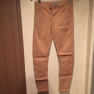 Topshop Moto/Petite Jamie Light Brown Jeans